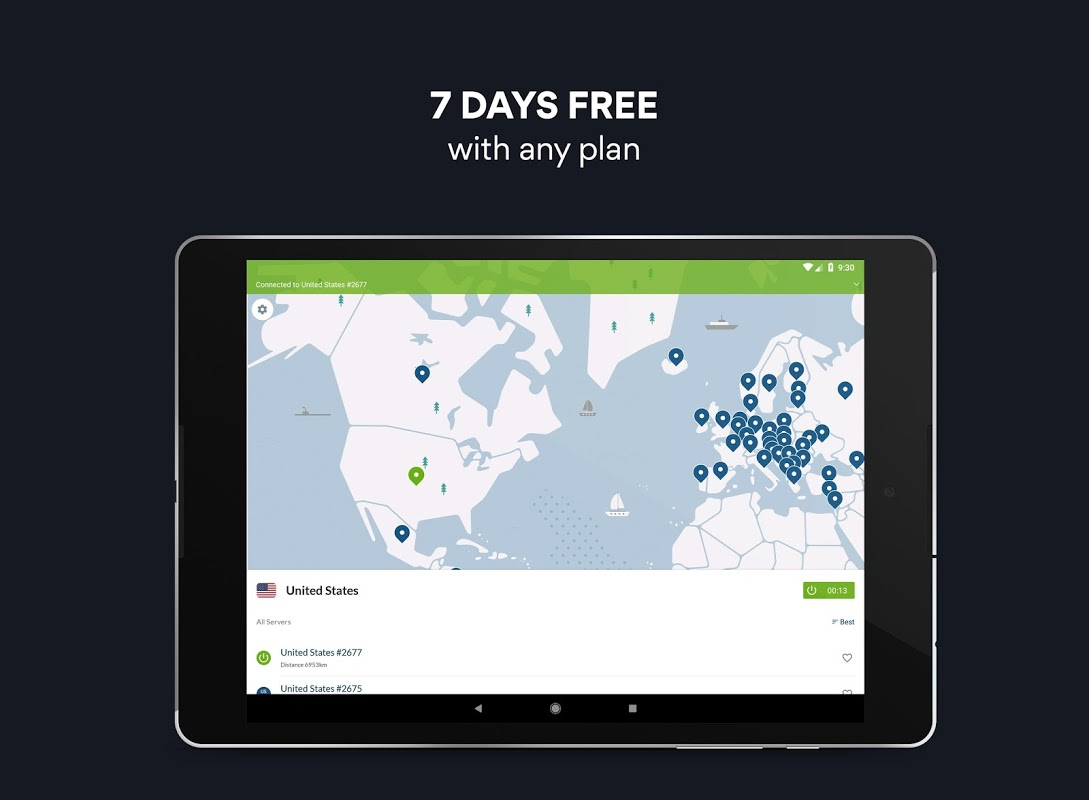Screenshot VPN: Fast & Unlimited NordVPN APK