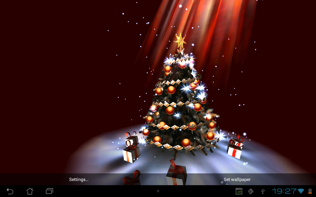 Christmas Tree 3D The App Store