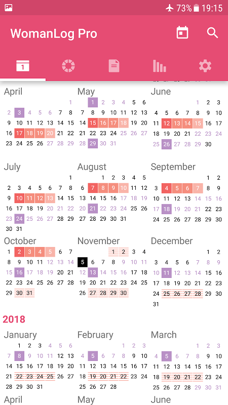 WomanLog Pro Calendar The App Store android Code Lads