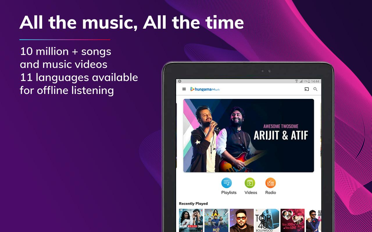 Hungama Music - Stream & Download MP3 Songs The App Store