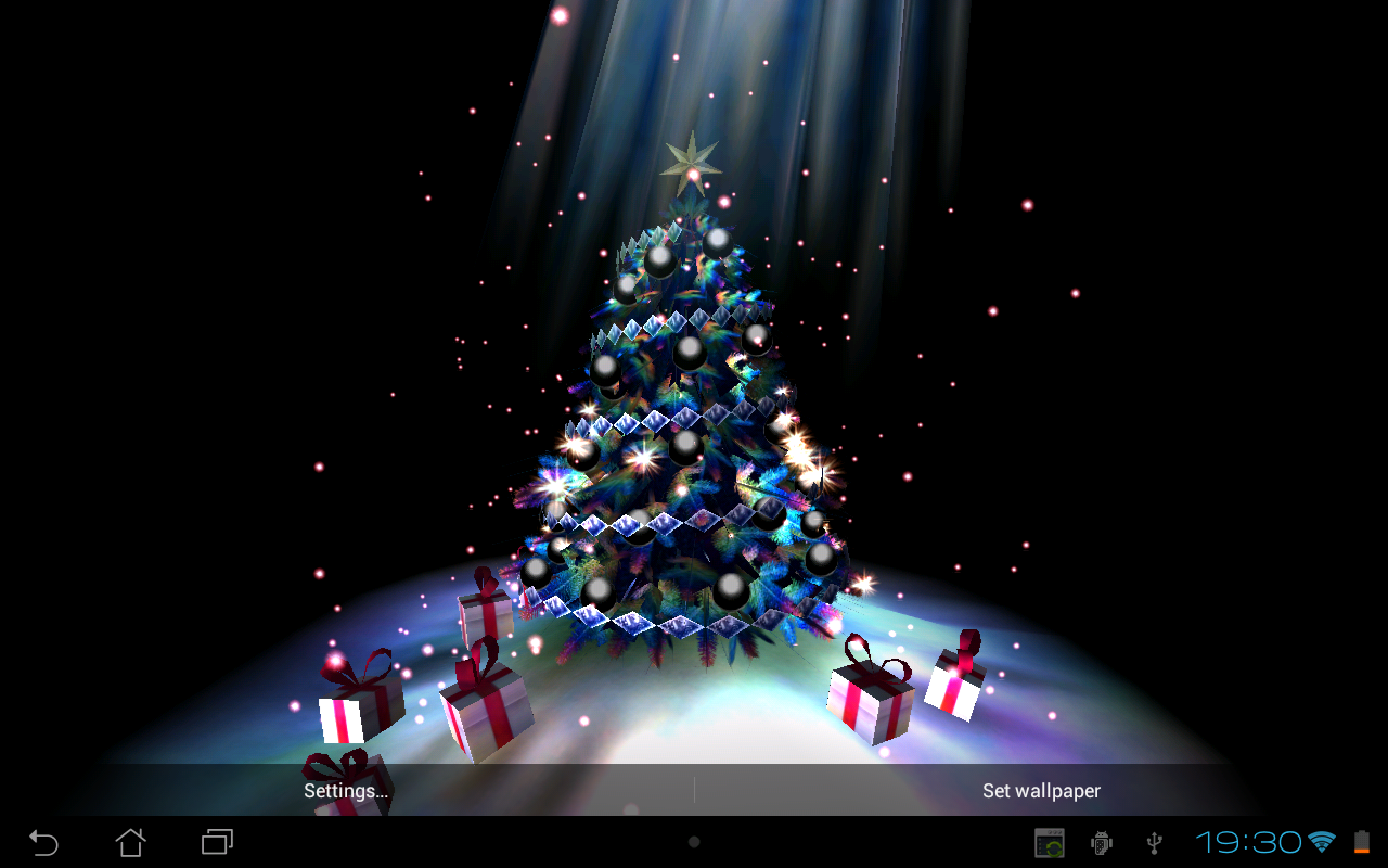 Christmas Tree 3D The App Store android Code Lads