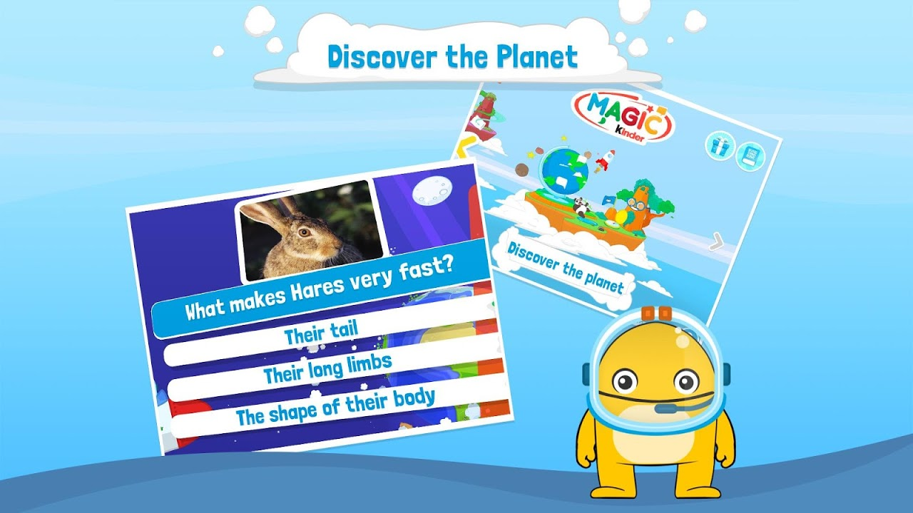 Screenshot Magic Kinder Official App - Free Kids Games APK