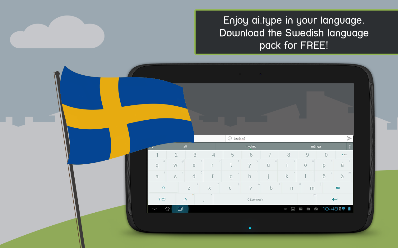 A.I.type Swedish Predictionary The App Store android Code Lads