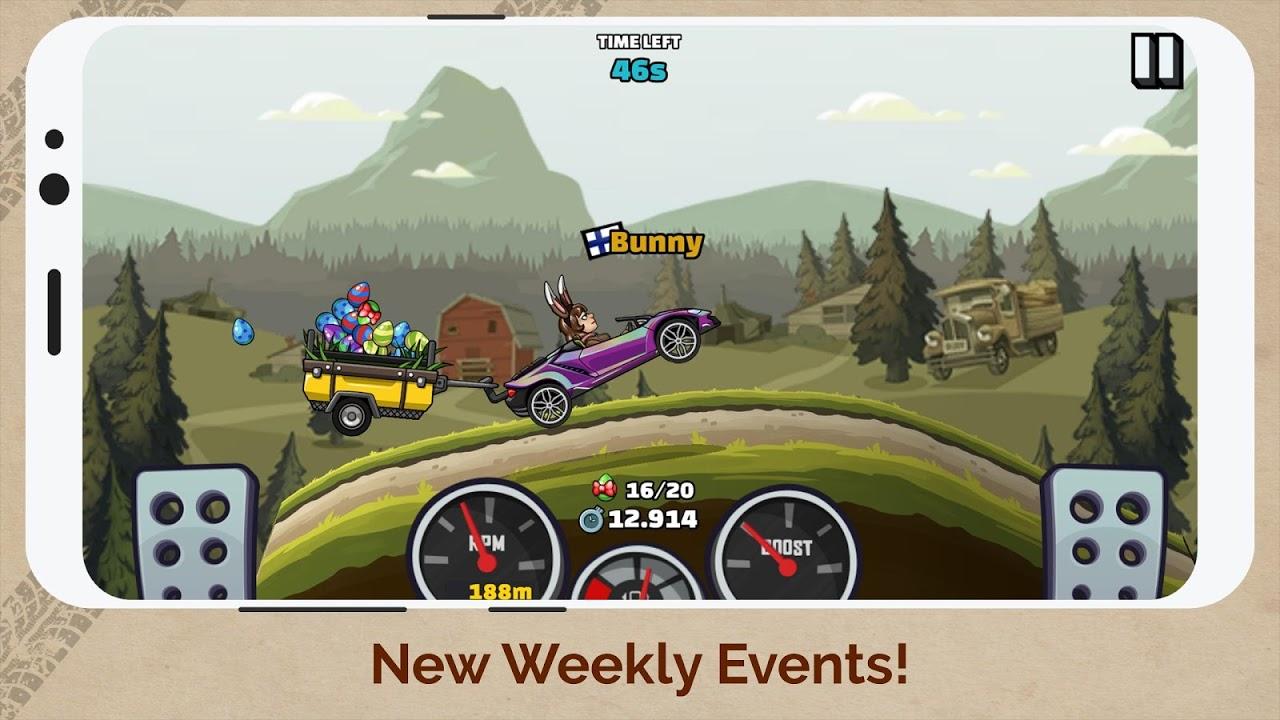 Screenshot Hill Climb Racing 2 APK