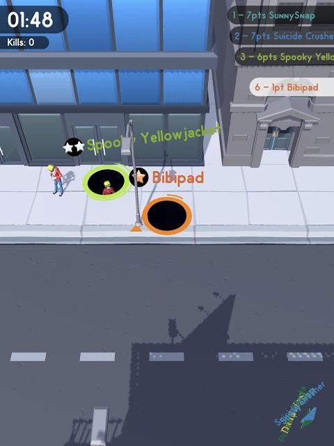 Screenshot Hole.io APK