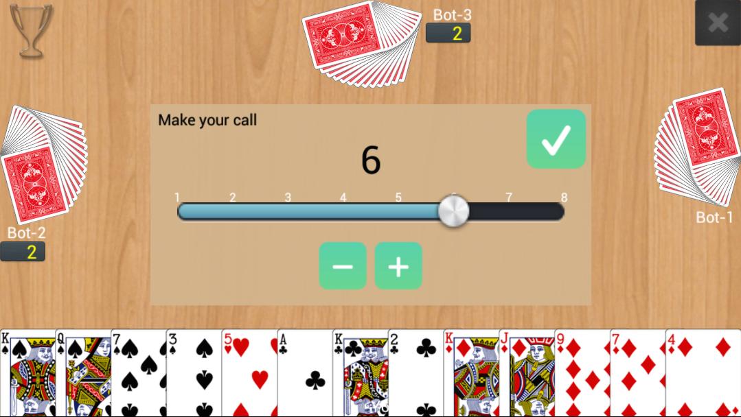 Screenshot Callbreak Multiplayer APK