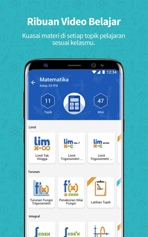 Screenshot Ruangguru - One-stop Learning Solution APK