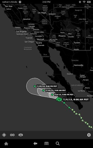 Screenshot MyRadar NOAA Weather Radar APK