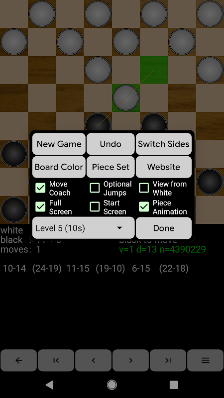 Screenshot Checkers for Android APK