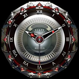 MAGNOLIA Analog Clock Widget