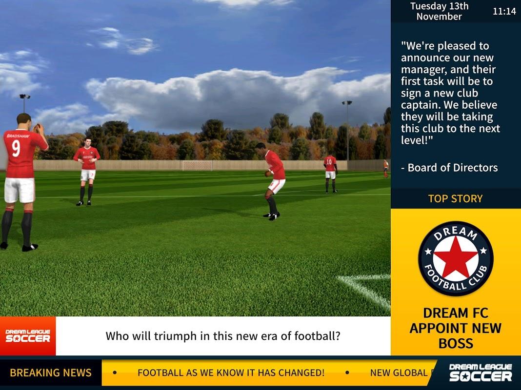 Screenshot Dream League Soccer 2017 APK