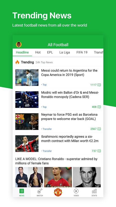 All Football - Latest News & Live Scores The App Store android Code Lads