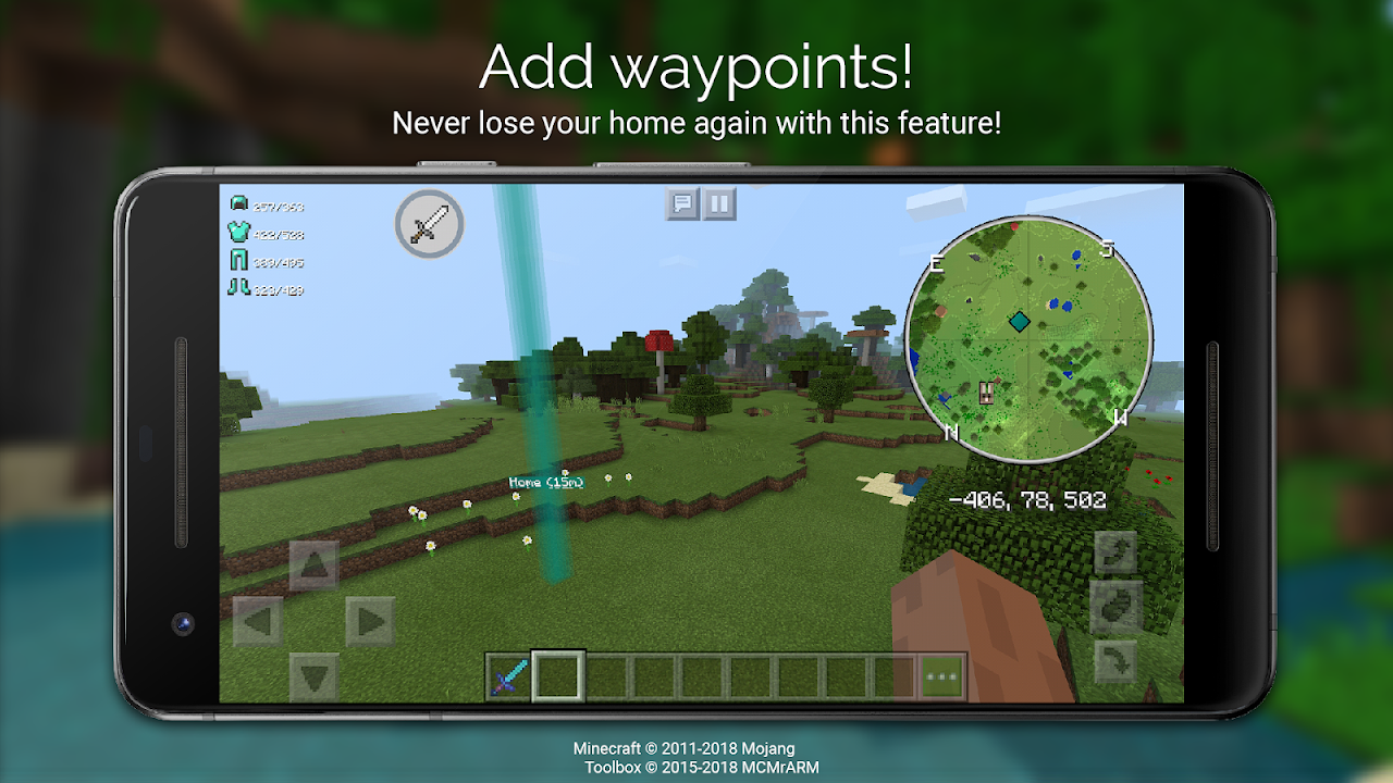 Screenshot Toolbox for Minecraft: PE APK