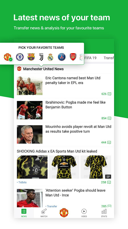 All Football - Latest News & Live Scores The App Store