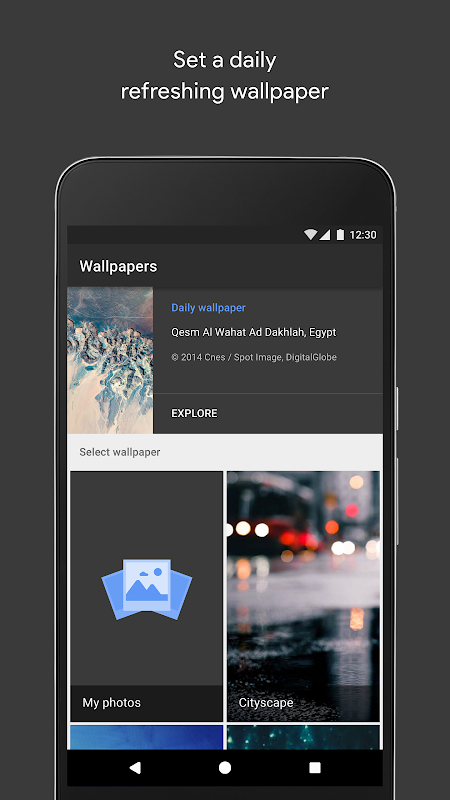 Wallpapers The App Store android Code Lads