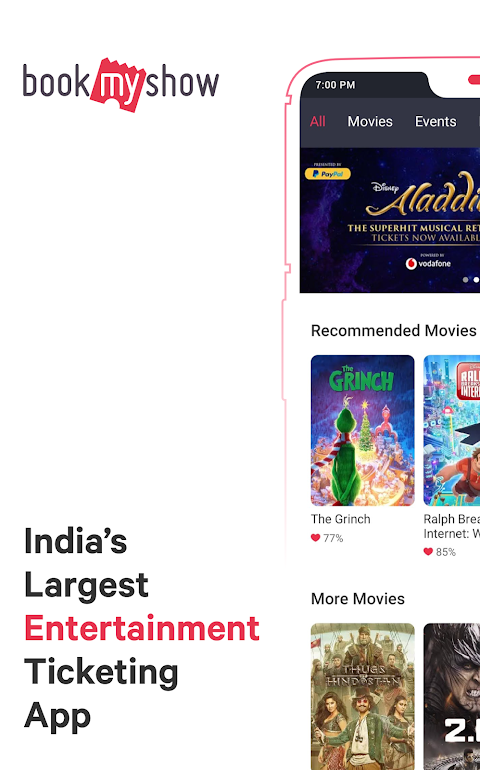 BookMyShow - Movies, Events & Sports Match Tickets The App Store