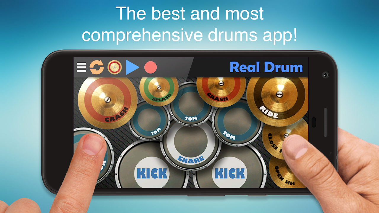 Real Drum - The Best Drum Pads Simulator The App Store