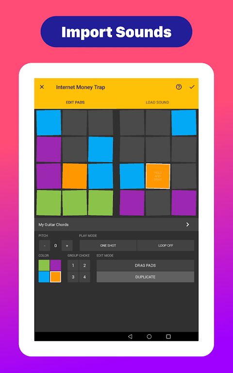Drum Pads 24 - Music Maker The App Store android Code Lads