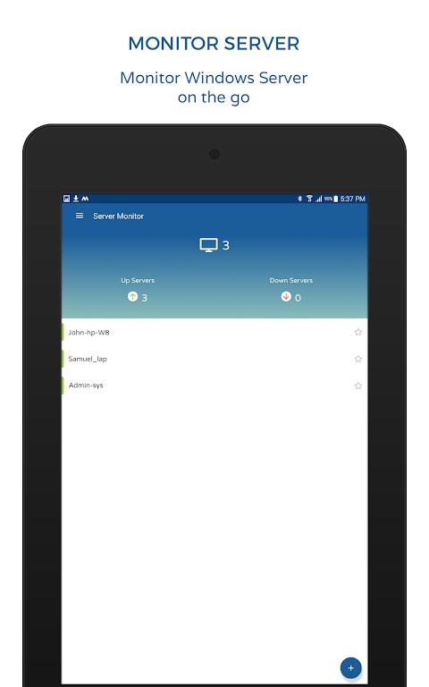 Screenshot Server and Service Monitor APK