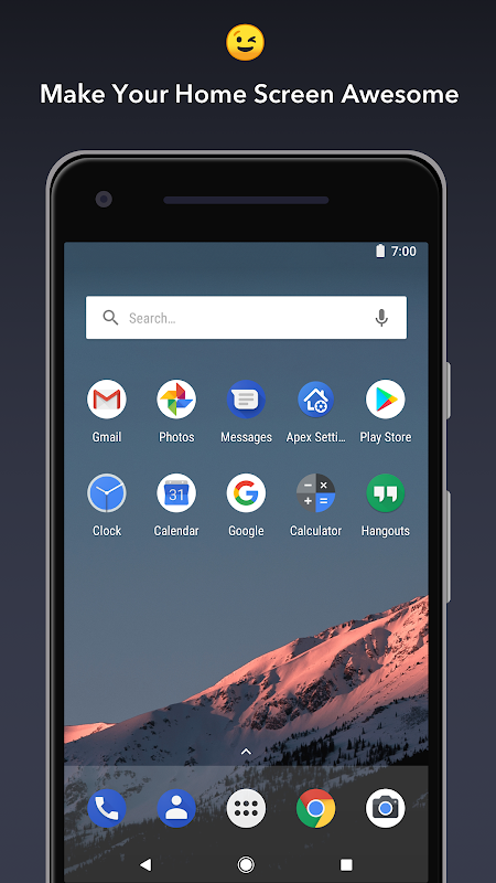 Apex Launcher - Customize,Secure,and Efficient The App Store android Code Lads