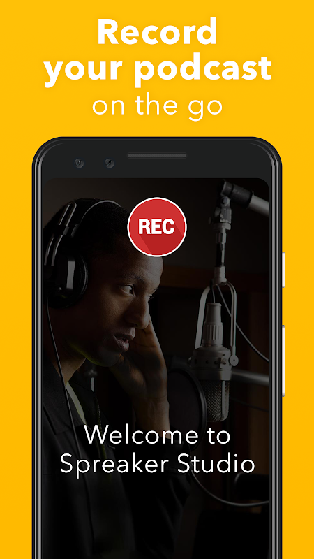 Spreaker Podcast Studio The App Store android Code Lads