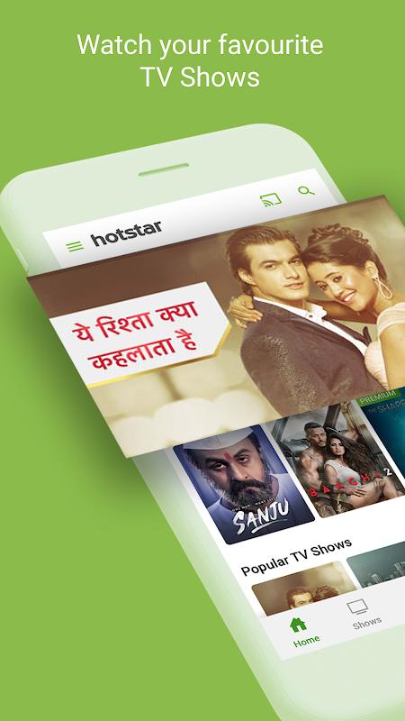 Hotstar TV Movies Live Cricket The App Store