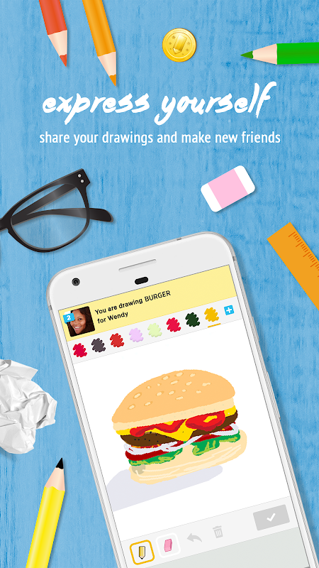 Screenshot Draw Something APK