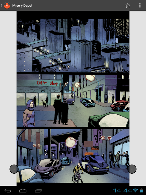 Astonishing Comic Reader HD The App Store