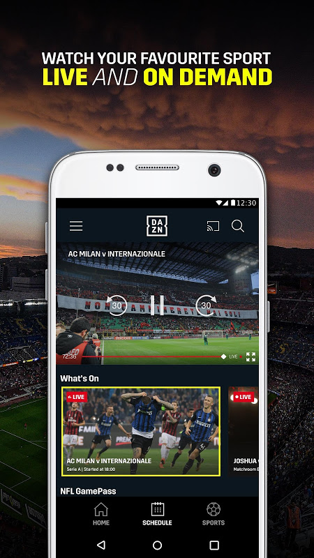 DAZN Live Sports Streaming The App Store