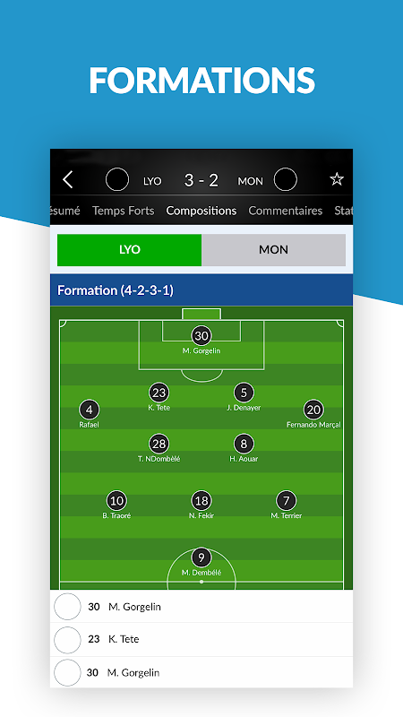 Résultats Foot en Direct The App Store