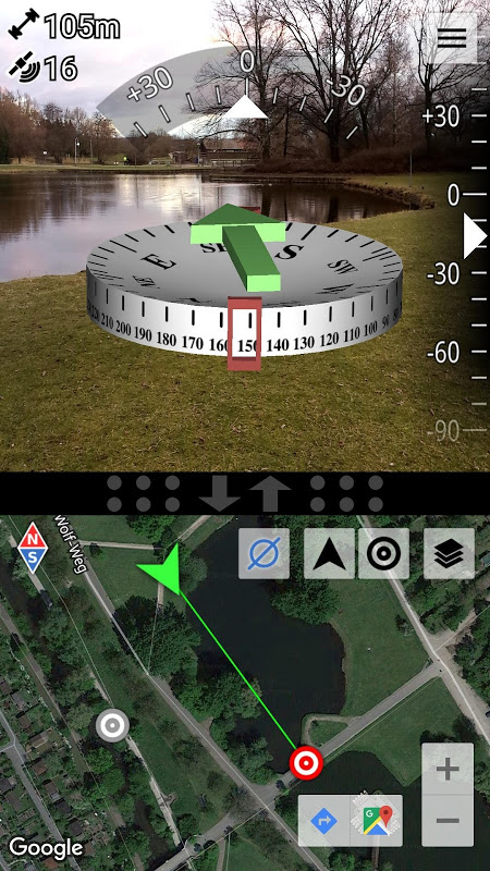 AR GPS Compass Map 3D The App Store