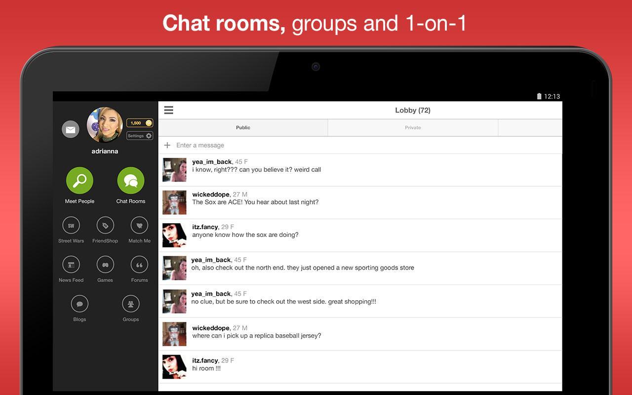 Screenshot Moco - Chat, Meet People APK
