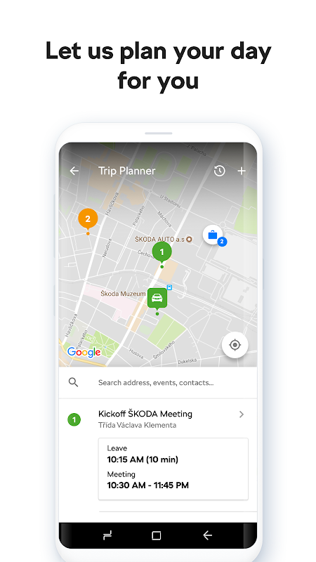 Screenshot ŠKODA Connect APK