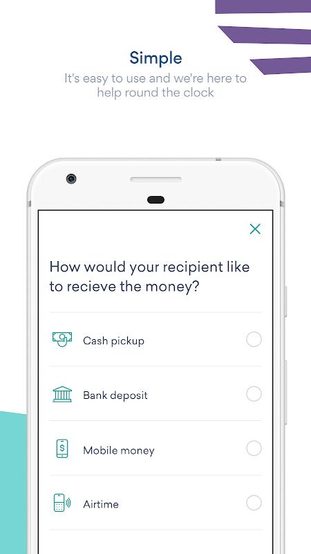 Screenshot WorldRemit Money Transfer APK
