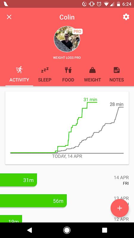 Screenshot Lark - 24/7 Health Coach APK