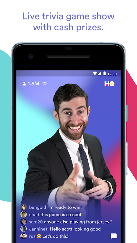 Screenshot HQ Trivia APK