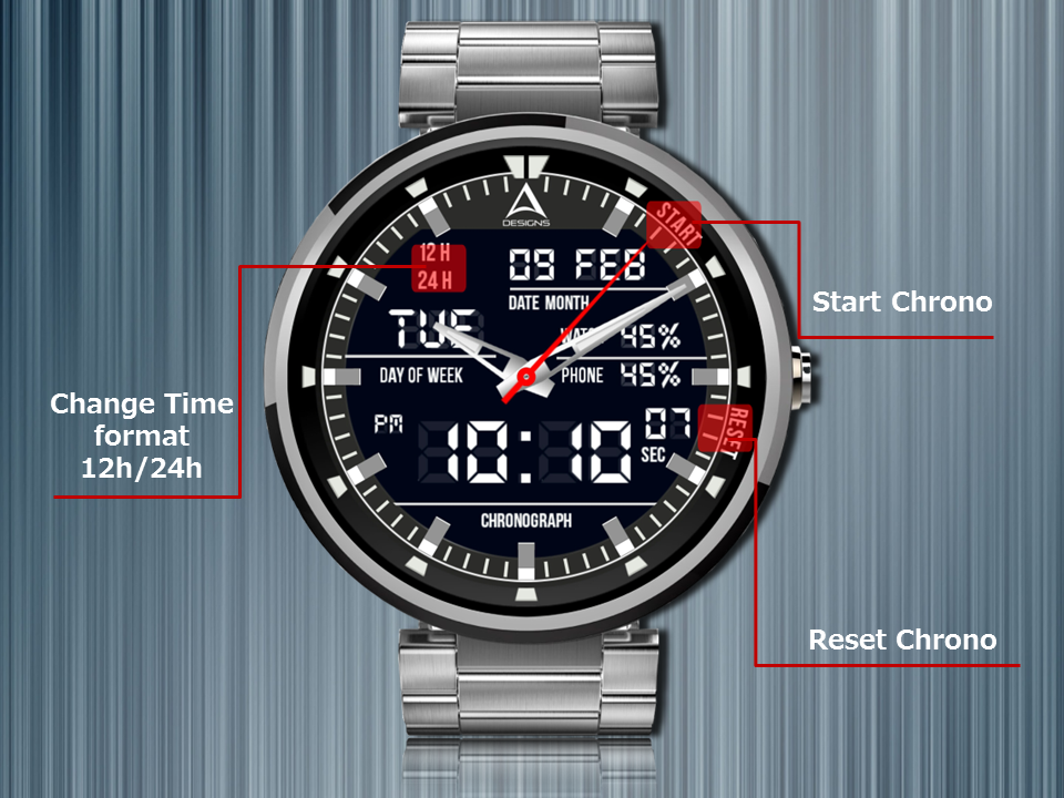 Graphite Watch Face The App Store android Code Lads