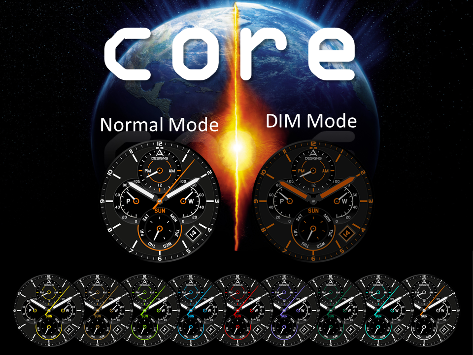 Core Watch Face The App Store android Code Lads