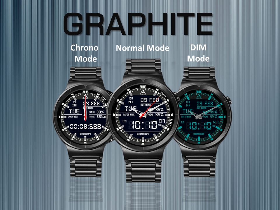 Graphite Watch Face The App Store