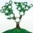 Семейное дерево с местом для фотографий и имен, векторная иллюстрация - MarketOlya.