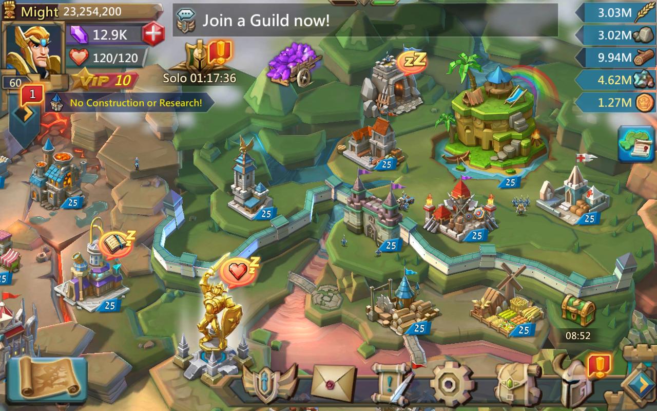 Screenshot Lords Mobile APK