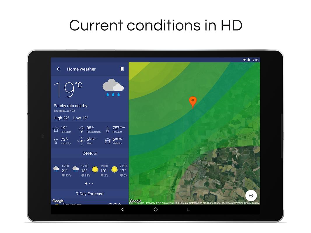Screenshot Weather Radar & Alerts APK