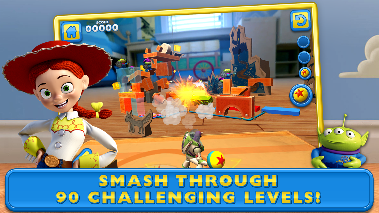 Screenshot Toy Story: Smash It! APK