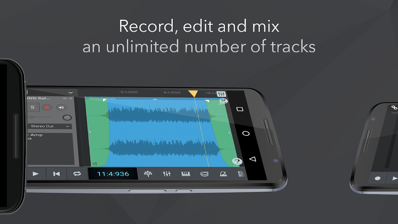 n-Track Studio Music DAW The App Store android Code Lads