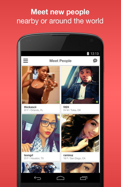 Moco+ - Chat, Meet People The App Store android Code Lads