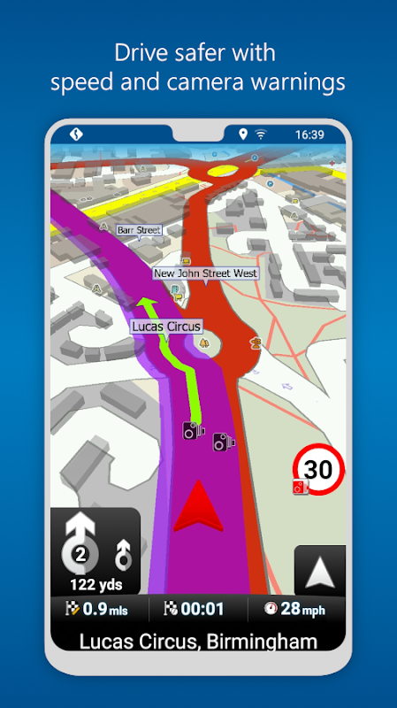 MapFactor GPS Navigation Maps The App Store android Code Lads