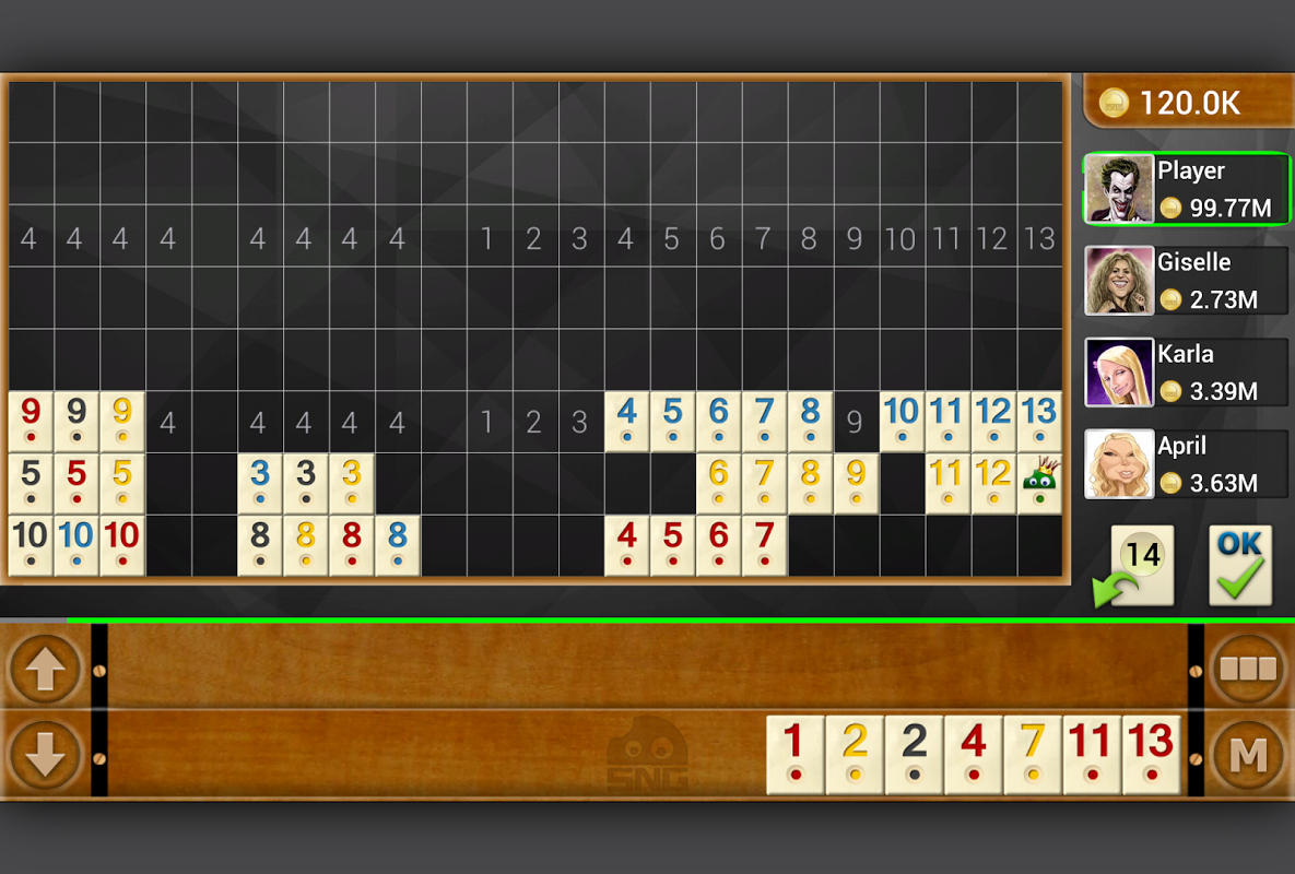 Screenshot Rummy - Offline APK