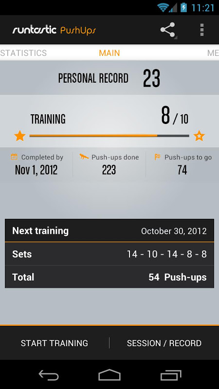 Runtastic Push-Ups PRO Trainer The App Store