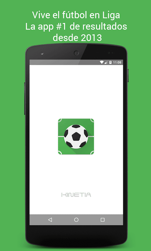 Liga - Soccer results The App Store android Code Lads