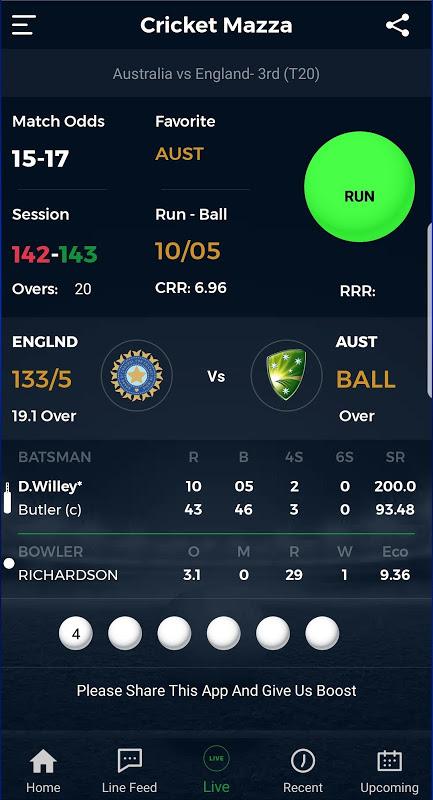 Cricket Mazza Live Line The App Store